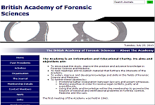 British Academy of Forensic Science
