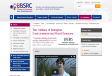 Institute of Biological Environmental and Rural Sciences