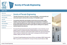 Society of Facade Engineering